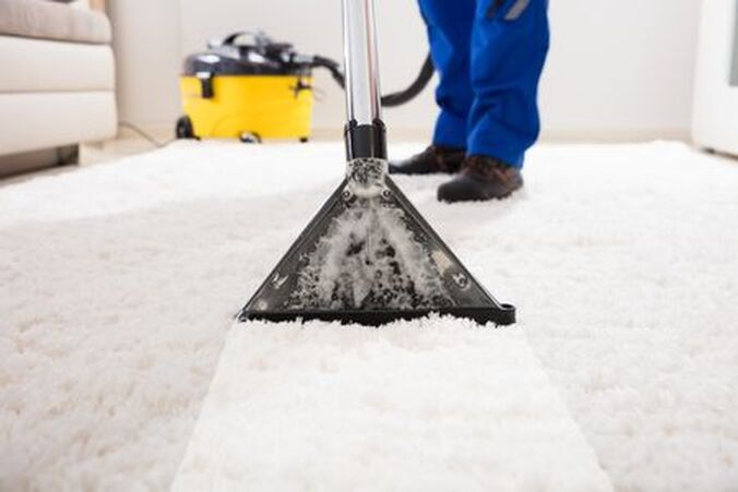 Professional carpet cleaning in Fayetteville, NC.